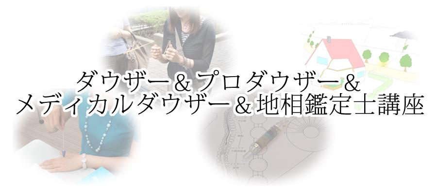 ダウザー&プロダウザー&地相鑑定士&メディカルダウザー